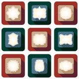 Retro and vintage icon design set Stock Photos