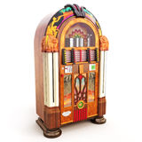 Retro vintage jukebox Royalty Free Stock Photos