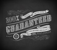 Retro Vintage label, typography Royalty Free Stock Photos