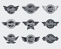Retro Vintage labels Royalty Free Stock Photos