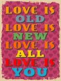 Retro Vintage Motivational Quote Poster. Vector illustration Stock Photo