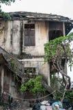 Retro Vintage Old House Thailand Stock Photo