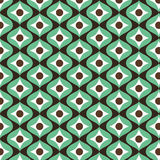 Retro vintage pattern background. Seamless Pattern. Print texture. Wallpaper design. Fabric design. Stock Photos