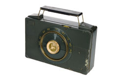 Retro Vintage Portable Radio Royalty Free Stock Photography
