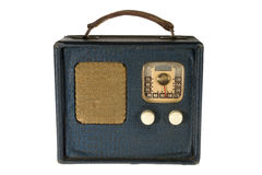 Retro Vintage Portable Radio Stock Photo