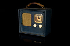 Retro Vintage Portable Radio Stock Images