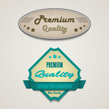 Retro vintage premium web design elements Royalty Free Stock Images