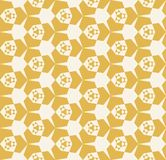 Retro vintage repeat design for prints, decor, textile, fabric. Yellow vector geometric pattern. Abstract seamless geometry background. Elegant texture with grid vector illustration