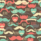 Retro vintage seamless pattern. Royalty Free Stock Image