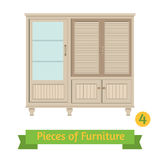 Retro vintage sideboard Royalty Free Stock Images