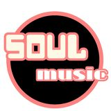 Soul music logo retro style. A retro vintage style soul music logo,ideal for flyers,soul nights, events,web pages,articles etc.The font is in a vintage style in stock illustration