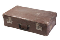 Retro Vintage Suitcase Stock Images