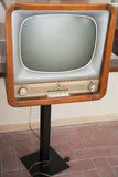 Retro vintage TV set Stock Images