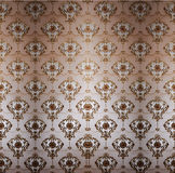 Retro vintage wallpaper Royalty Free Stock Photography