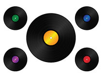 Retro Vinyl Royalty Free Stock Photos