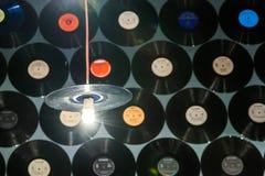 Retro Vinyl Discs Royalty Free Stock Photo
