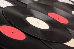 retro vinyl för disk Royaltyfri Bild