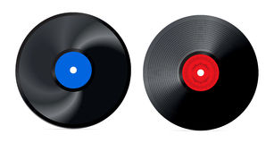 Retro vinyl record -  Royalty Free Stock Image