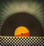Retro vinyl records Royalty Free Stock Photo