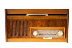 Retro- Vinylgrammophon. Stockbild
