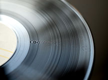 Retro- Vinylplatte Lizenzfreie Stockbilder