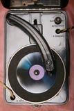 Retro vinylspelare Royaltyfria Foton