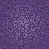 Retro- violetter Weinlesemusterhintergrund Stockbild