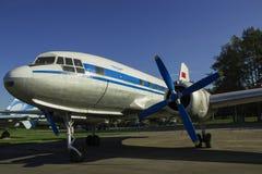 Retro vliegtuig stock fotografie