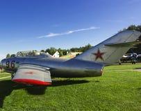 Retro vliegtuig stock afbeeldingen