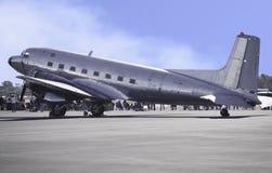 Retro Vliegtuig van de Passagier Stock Afbeelding
