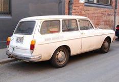 Retro- Volkswagen-Kombiwagen in Adelaide Stockbild