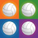 Retro volleyball Royalty-vrije Illustratie