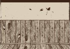 Retro wall. royalty free illustration