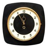 Retro wall clock Royalty Free Stock Image