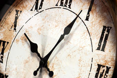 Retro wall clock Stock Photography