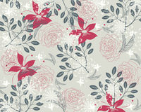 Retro wall paper royalty free stock image