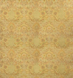 Retro wallpaper. Old retro wallpaper background/ flowers Stock Photo