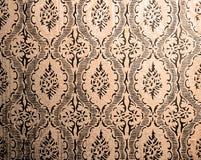 Retro wallpaper Arkivfoto