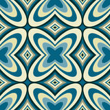 Retro Wallpaper Abstract  Seamless Pattern Royalty Free Stock Photos