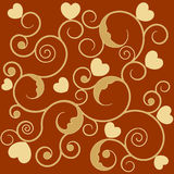 Retro wallpaper / background Royalty Free Stock Photography