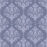 Retro wallpaper. Damask seamless pattern for design. Vector Illustration stock illustration