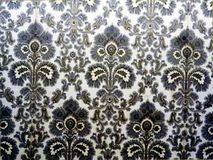 Retro wallpaper with floral pattern Royalty Free Stock Images