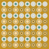 Retro wallpaper pattern Stock Photo