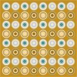 Retro wallpaper pattern vector illustration