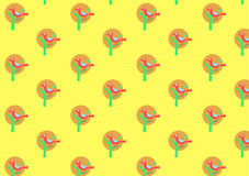 Retro wallpaper pattern Stock Photos