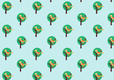 Retro wallpaper pattern Royalty Free Stock Photography
