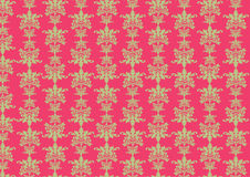 Retro wallpaper pattern Royalty Free Stock Photo