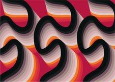 Retro wallpaper pattern Stock Illustration