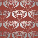 Retro wallpaper seamless Royalty Free Stock Photography