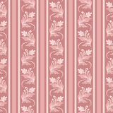 Retro wallpaper. Seamless background with stripes for design, vector Illustration stock illustration